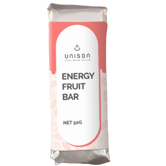 Baton raw vegan Vanilla Red Fudge Unison